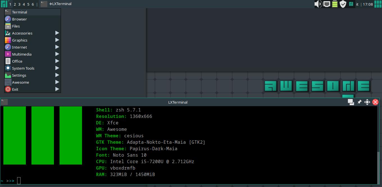 File:Awesome-wm-18 png - Manjaro Linux